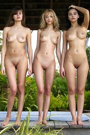 Anna With Angelica & Paulina