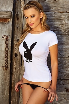 German Playmate Karolina Witkowska via Playboy
