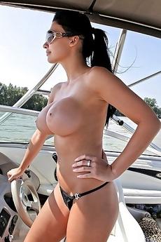 Aletta Ocean In Glasses