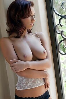 Victoria Lynn Slips Off Her Lingerie