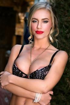 Nicole Aniston - Solo Lingerie Striptease