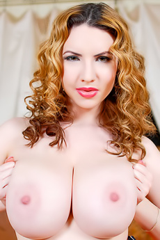Sweet Faced Redhead Kay Loove Stripping